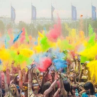 Фестиваль красок во всех городах Россий 2015