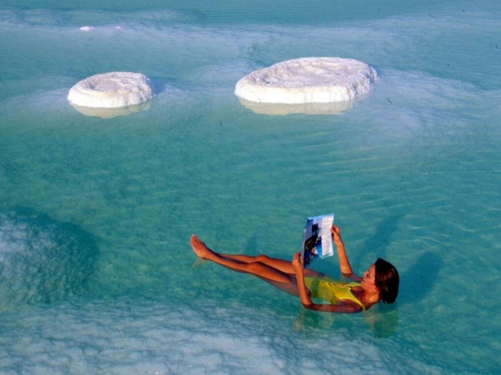 Искупаться в Мертвом море