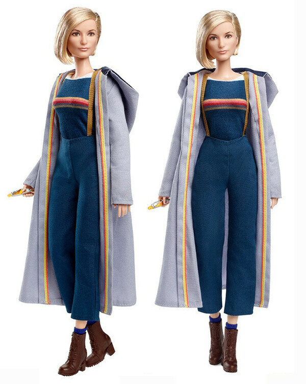 BARBIE® DOCTOR WHO THIRTEENTH DOCTOR WITH SONIC SCREWDRIVER COLLECTOR DOLL
