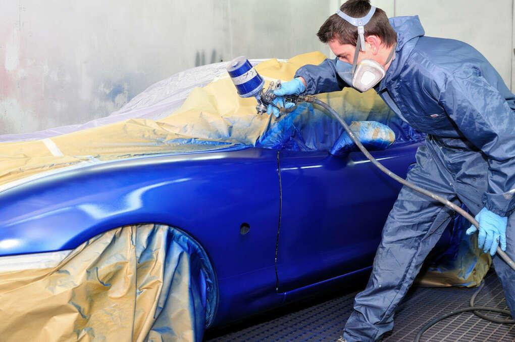 Покрасить машину