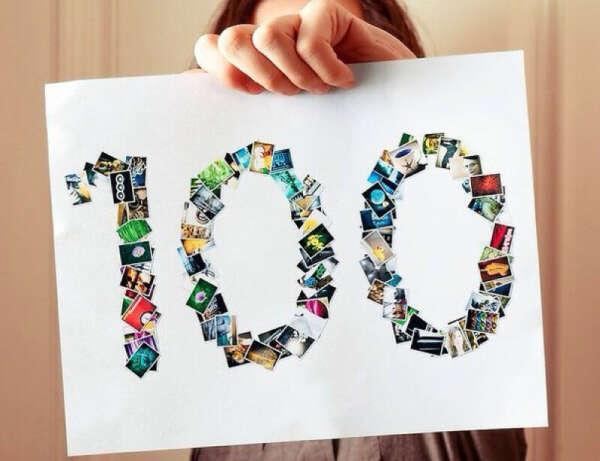 """Составить личный список """"100 вещей, которые нужно сделать в жизни"""""""