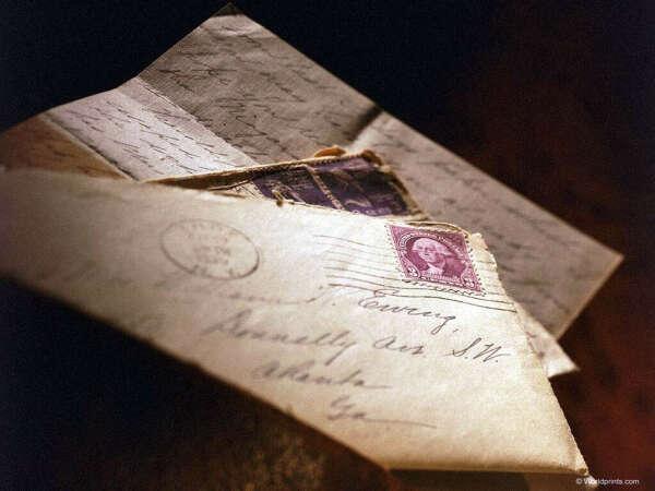Получить письмо,написанное от руки