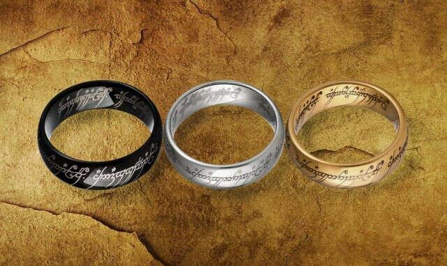 Кольцо Всевластия (серебряное)