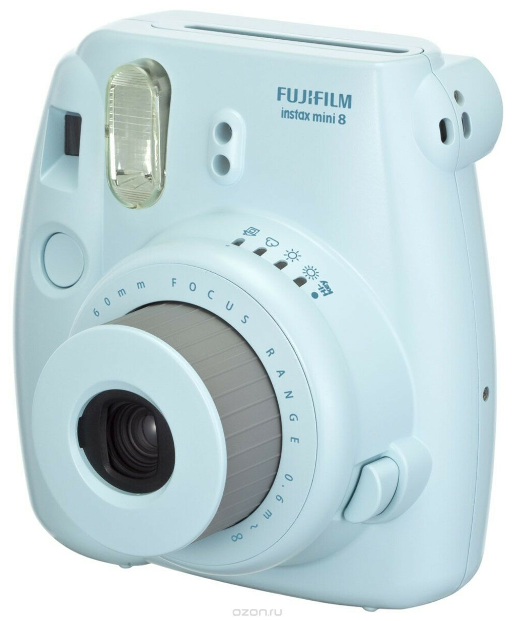 Fujifilm Instax Mini 8, Blue фотоаппарат