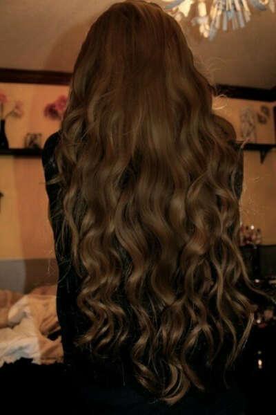 Длинные, густые, красивые волосы