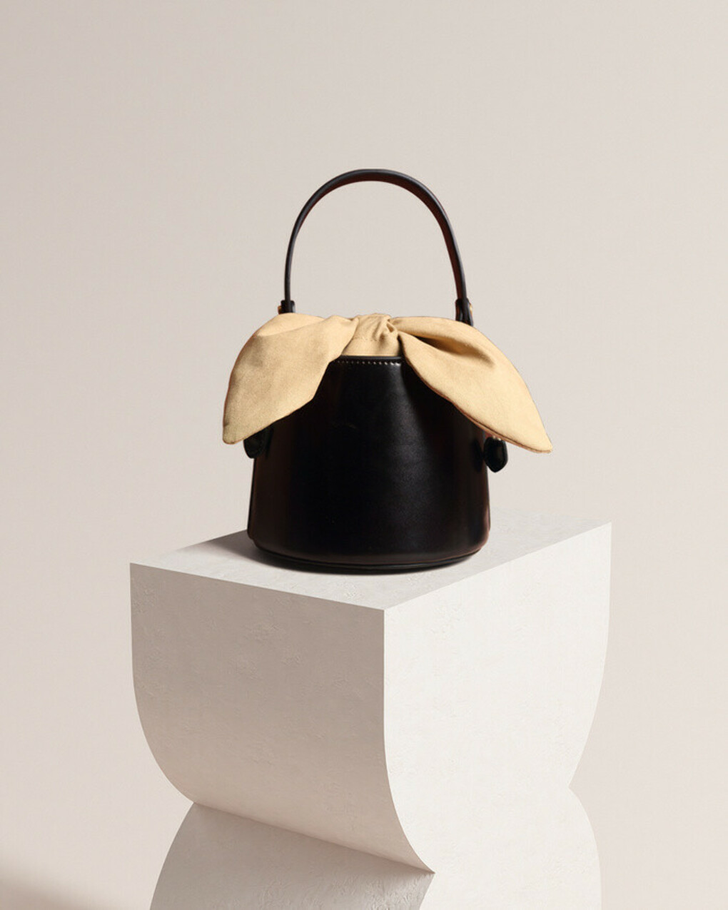 Esme Leather Bucket Bag