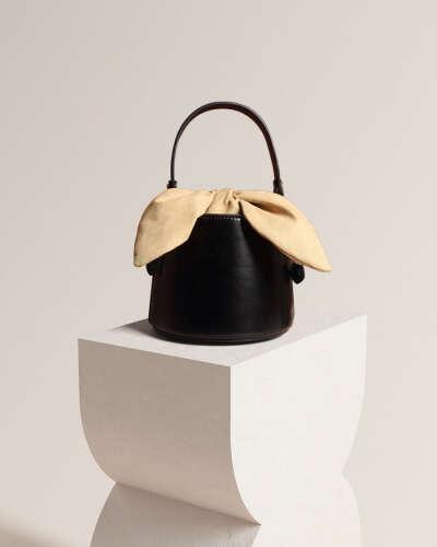 Esme Leather Bucket Bag