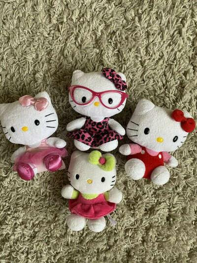 Мягкая игрушка hello kitty (Hello Kitty)