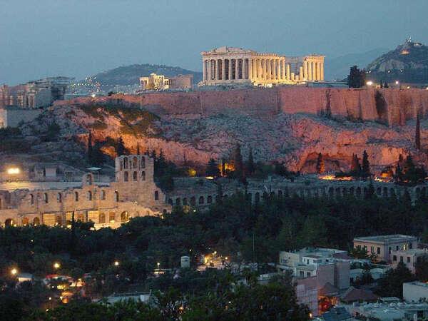 Побывать в Афинах