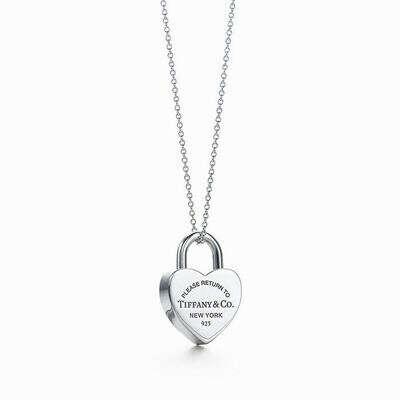 Колье Tiffany & Co Return to Tiffany Heart tag necklace [0424]