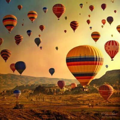 На фестиваль воздушных шаров