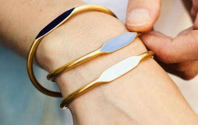 Латунные браслеты Garnett Jewelry (3 шт.)