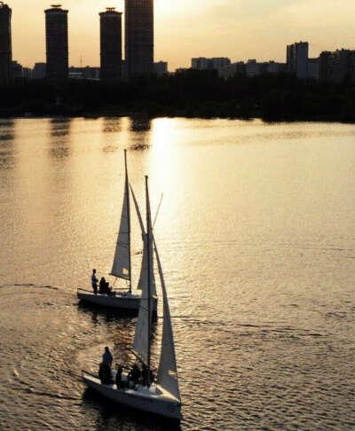 На яхтинг с «Силой ветра»
