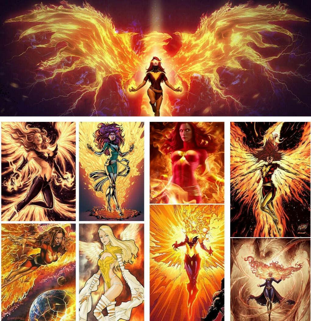 Если бы я переродилась в другом мире... ХОЧУ полную силу Феникса и в идеале контролировать  (+способности всех её носителей).