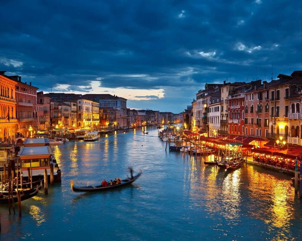 Побывать в Венеции