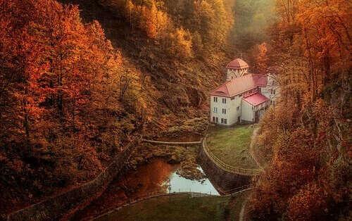 Autumn Valley, Slovenia
