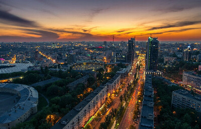 Гулять улицами Киева пешком