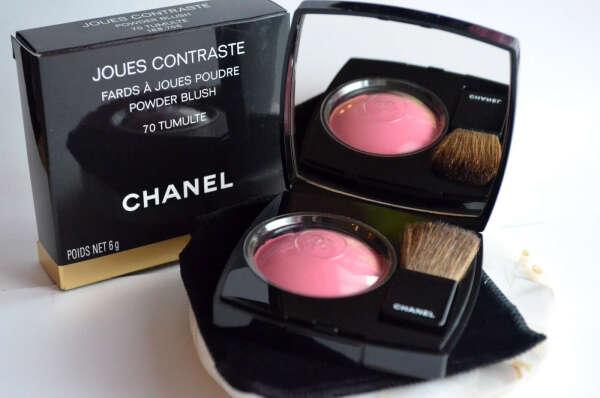 Chanel Joues Contraste powder blush #70 Tumulte