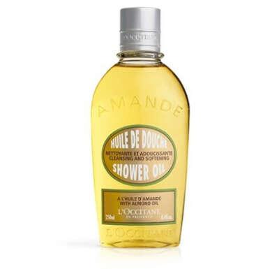 Миндальное масло для душа Л'Окситан. Купить масло для ванны L'Occitan