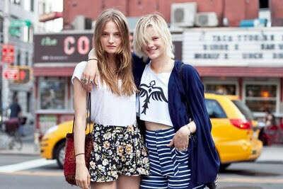 Приехать в Нью-Йорк на неделю моды.