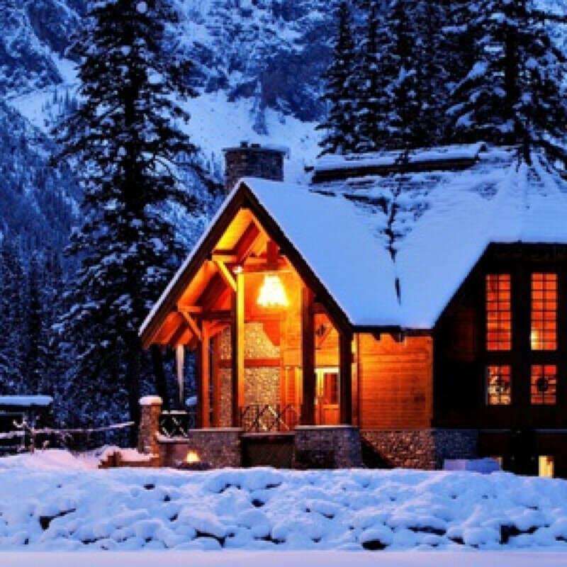 домик в горах в Италии