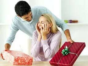 Подарок от мужчины без повода