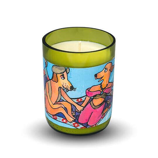 Свеча в винной бутылке Fairy Tale  / Восточные пряности