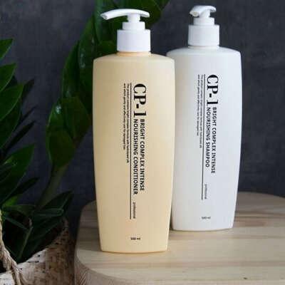 Протеиновый шампунь и кондиционер ESTHETIC HOUSE для волос CP-1 BC Intense Nourishing Shampoo