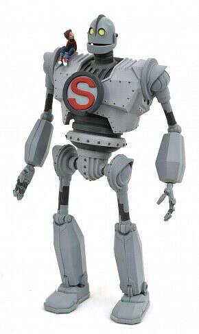 Фигурка Стальной Гигант — The Iron Giant Select Figure
