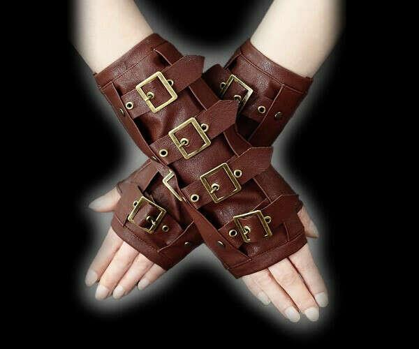 Стимпанк-перчатки