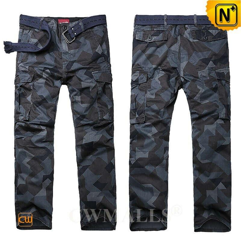 Casual Pants | Men Hunting Camo Cargo Pants CW109009 | CWMALLS.COM