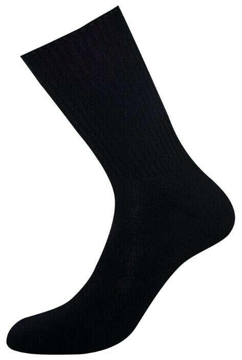 Набор высоких черных носков, р-р 37-38