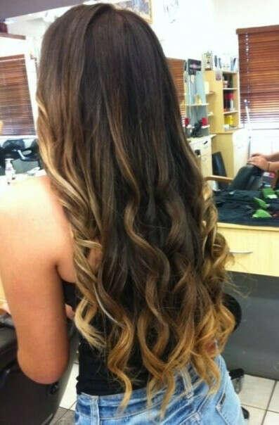 Кудрявые волосы .-.
