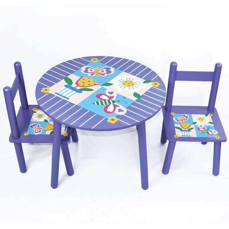 Столик со стульчики круглый
