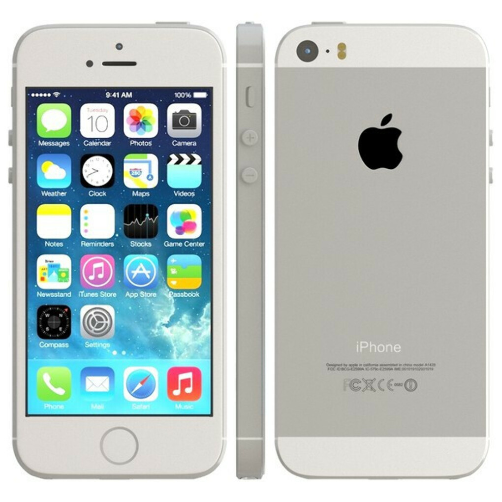 iphone 5s silver color