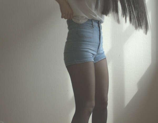 Высокие шорты