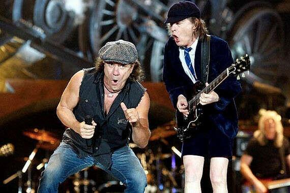 Попасть на концерт AC/DC
