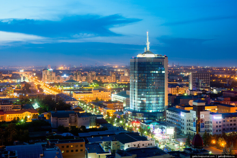 Посетить Челябинск