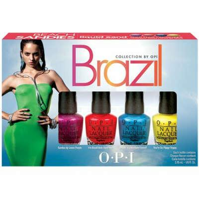 Набор мини-лаков OPI Brazil