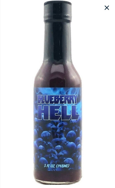 Соус острый Hellfire Blueberry Hell