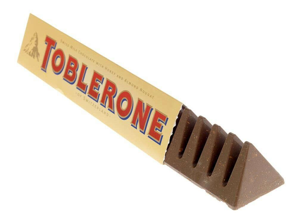 Шоколад Тоблерон Милк Toblerone Milk молочный с медом и нугой