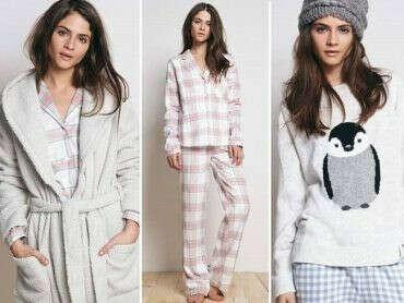 Теплая уютная пижама