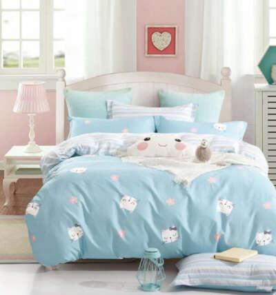 Комплект постельного белья BUTTERFLY сатин (СДК1) Детский рис 661