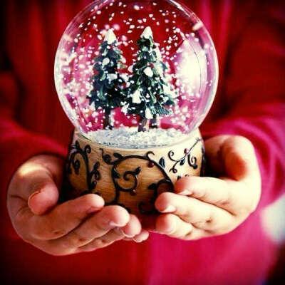 большой рождественский шар