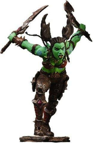 Фигурка World of Warcraft Series 7 — Garona Orc Rogue /DC Unlimited