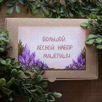 Большой лесной набор для творчества от Машериши - купить в интернет-магазине BeadsTree.ru