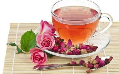 Прозрачный сервиз для чаепития