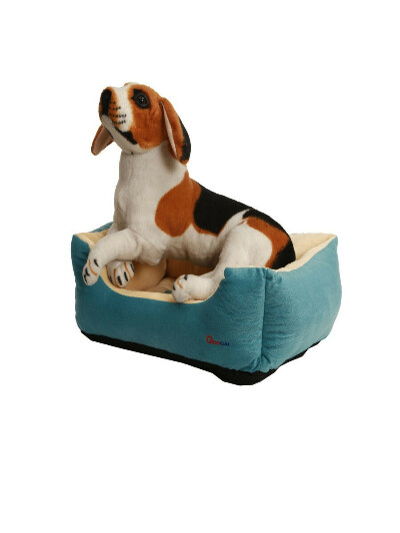 Лежанка - домик для собак и кошек 40х30х15, Guocai