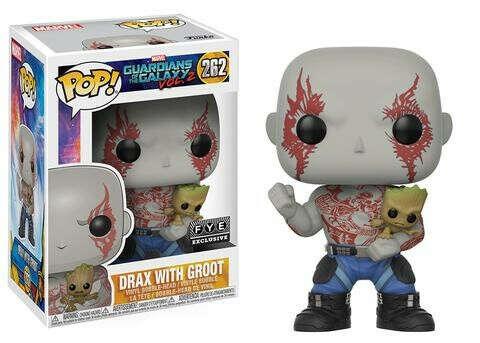 262. Drax with Groot / Дракс и Грут