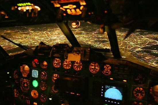Полетать в кабине пилота